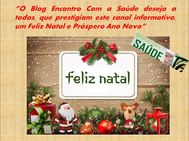 fc0d760fe Feliz Natal do Blog Encontro Com a Saúde - Blogs de Natureza