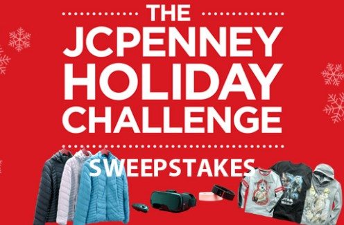 The JCPenney Holiday Challenge Sweepstakes