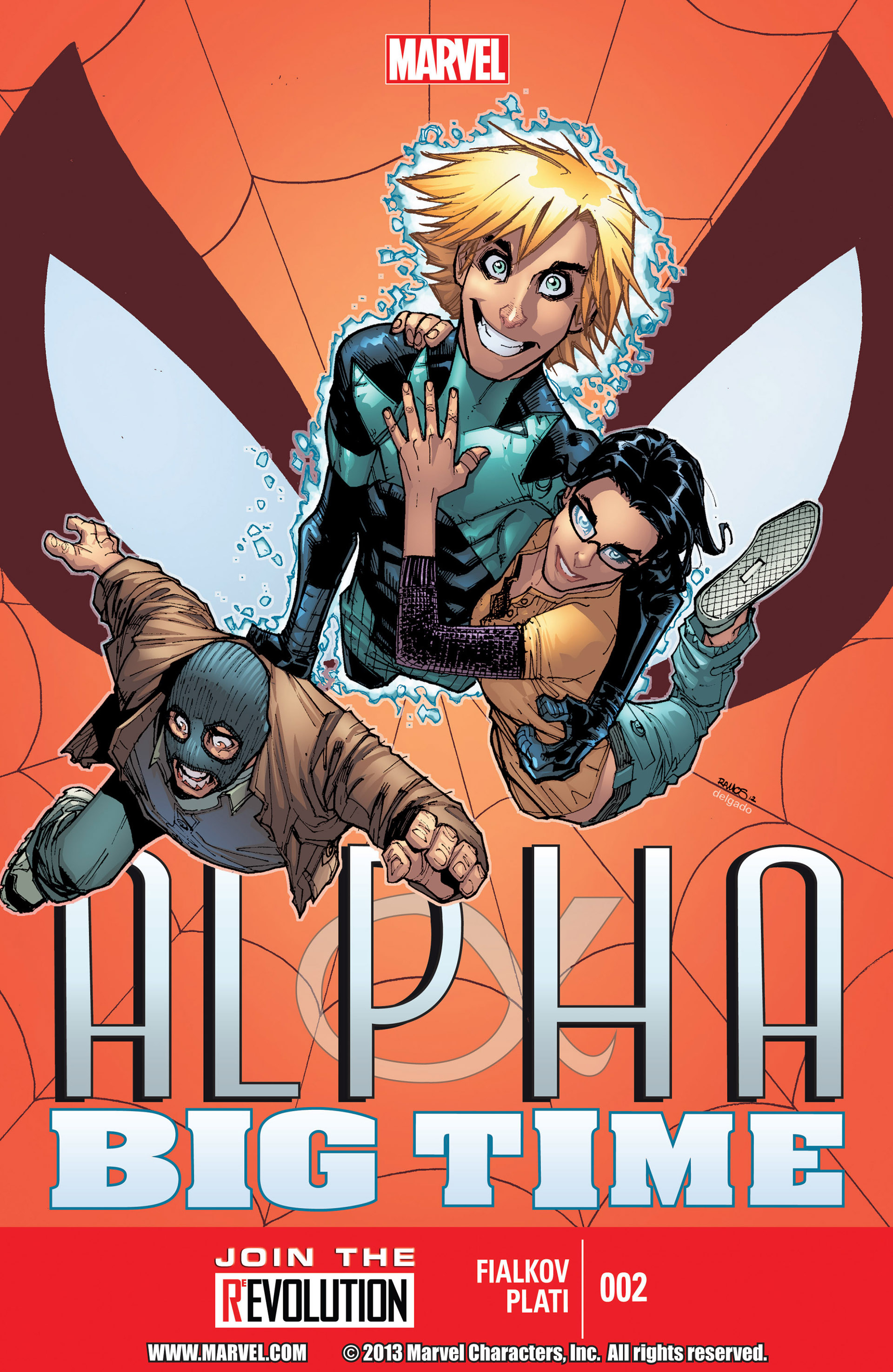 Read online Alpha - Big Time comic -  Issue #2 - 1