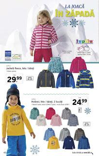 CATALOG LIDL 10 - 16 decembrie 2018 hainute de copii pentru Craciun
