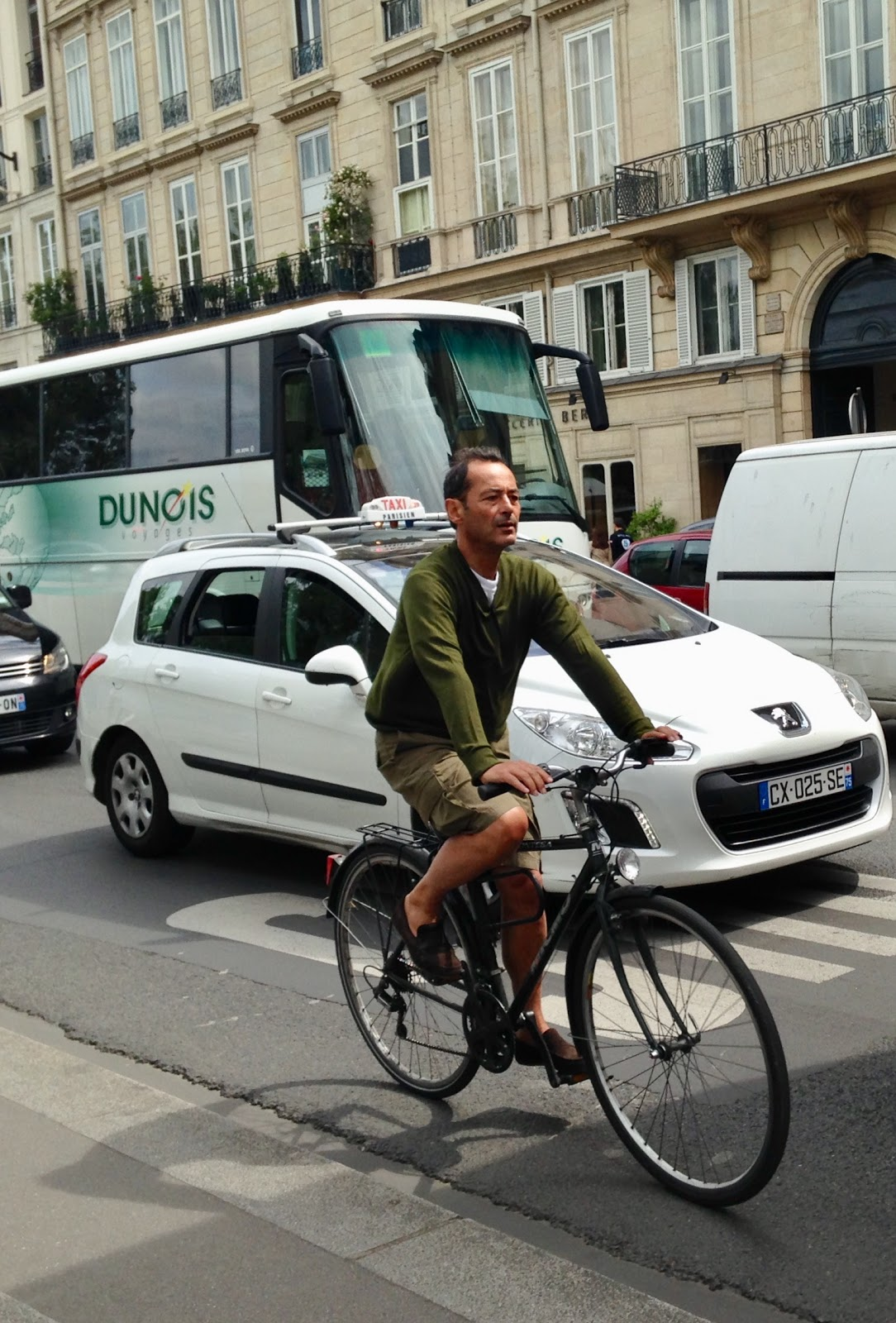 Paris is for bicycle lovers.