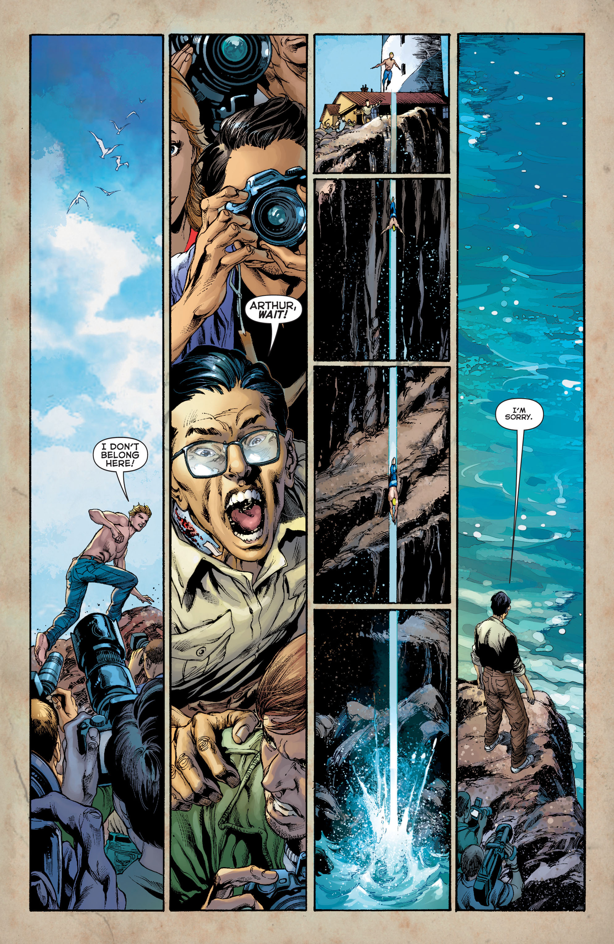 Read online Aquaman (2011) comic -  Issue #8 - 6