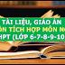 Kho tài liệu, giáo án liên môn tích môn Ngữ Văn lớp 6-7-8-9-10-11-12 cấp THCS-THPT
