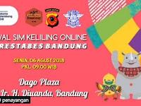 Jadwal SIM Keliling Polrestabes Bandung | 6 Agustus 2018