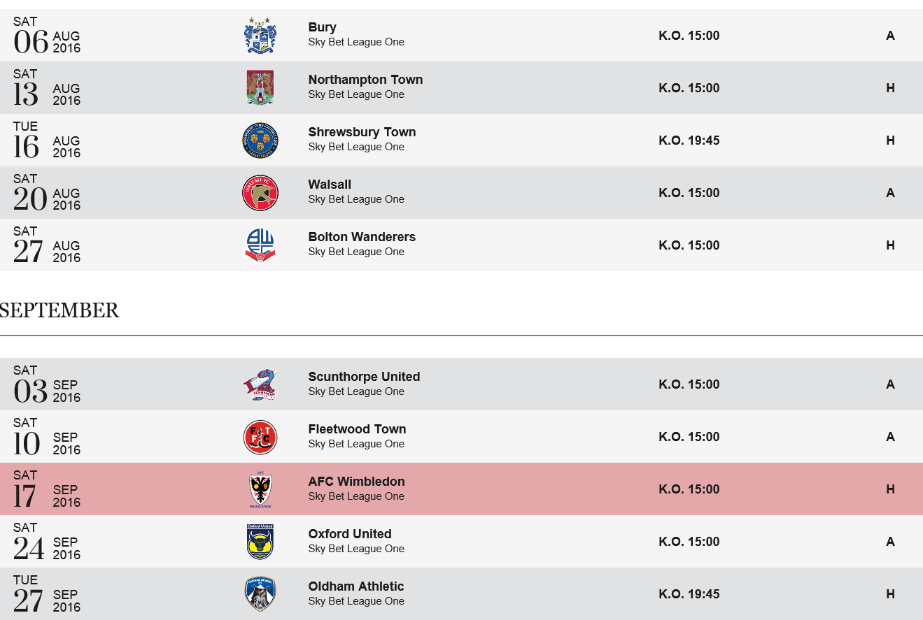 french league one fixtures