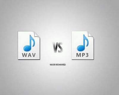 Mp3 vs wav