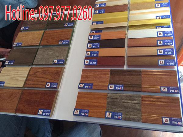Phào nẹp sàn gỗ công nghiệp