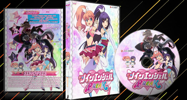 Kaitou Tenshi Twin Angel TV | Cover DVD |