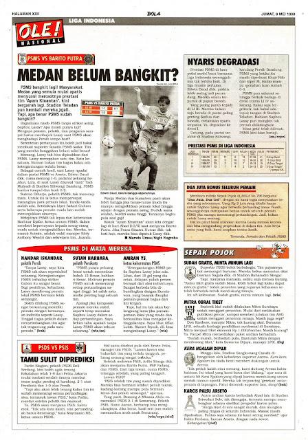 LIGA INDONESIA PSMS MEDAN VS BARITO PUTRA