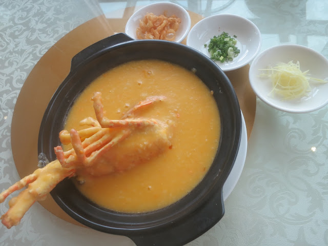 Crab Roe Live Lobster Golden Porridge