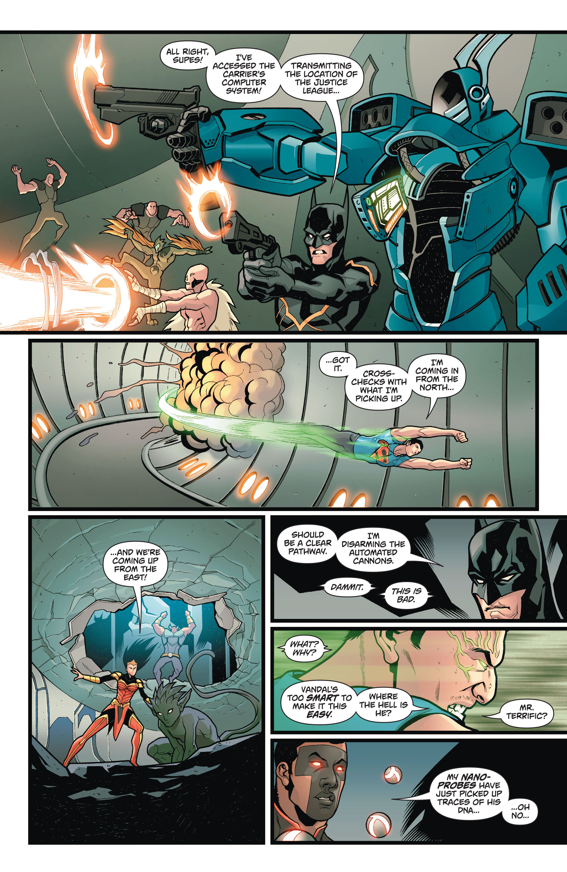 Read online Action Comics (2011) comic -  Issue #50 - 16