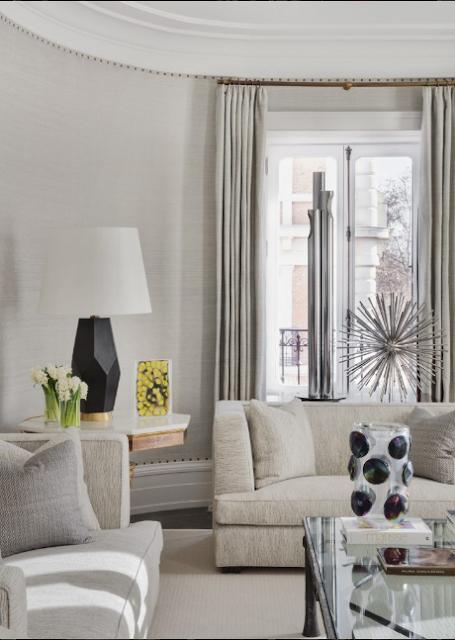 Pablo Paniagua living room Design via Belle Vivir