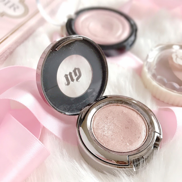 Four Champagne Pinks To Try | Urban Decay Sin Eyeshadow