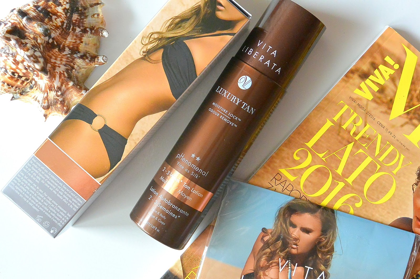 pHenomenal 2-3 week Self Tan Lotion Medium VITA LIBERATA | Samoopalacz idealny?