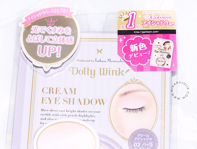 Dolly Wink Cream Eyeshadow 01 Gold
