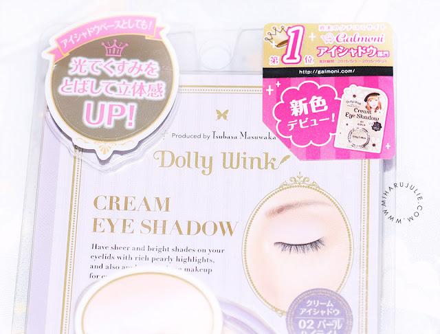Dolly Wink Cream Eyeshadow 01 Gold