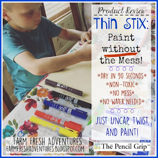 Thin Stix: Paint Without the Mess {Product Review}