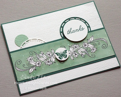 Heart's Delight Cards, Beauty Abounds, Thank you card, Occasions 2019, Stampin' Up!