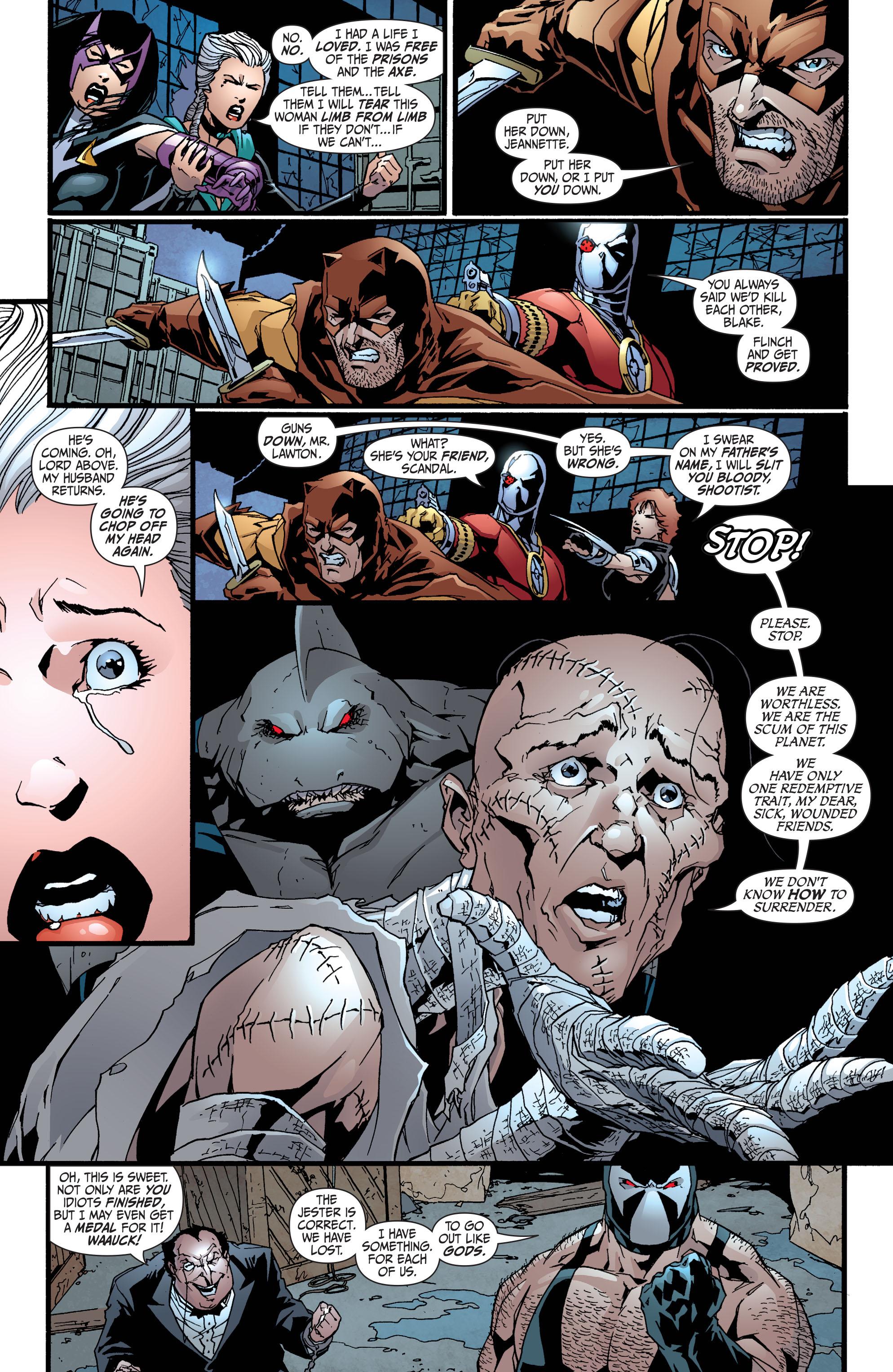 Read online Secret Six (2008) comic -  Issue #36 - 16