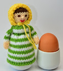 Jane Austen Doll Egg Cosy Knitting Pattern