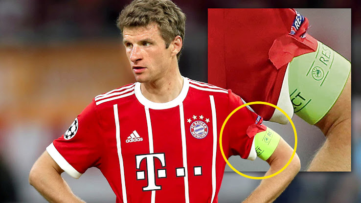 too thin arms thomas müller has a problem with uefa s captain