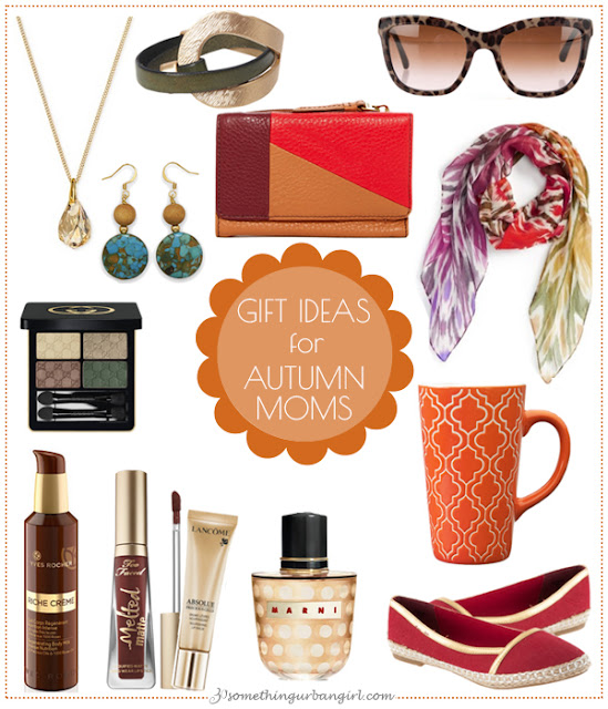 Pretty Mother's Day Gift Ideas for Autumn Moms by 30somethingurbangirl.com