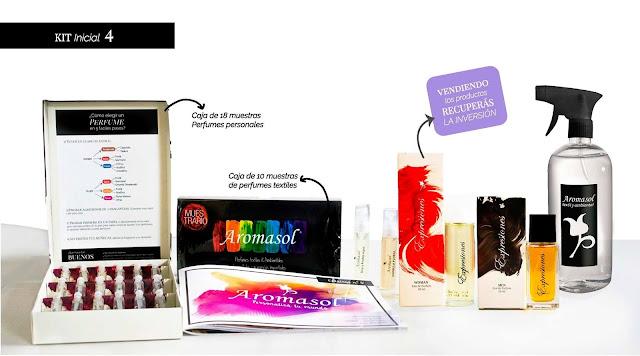 probadores y perfumes para vender por catálogo