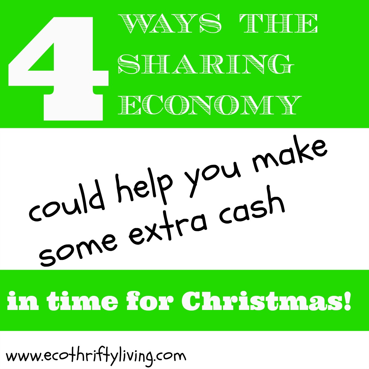 4 ways the sharing economy could help you make some extra cash to ...