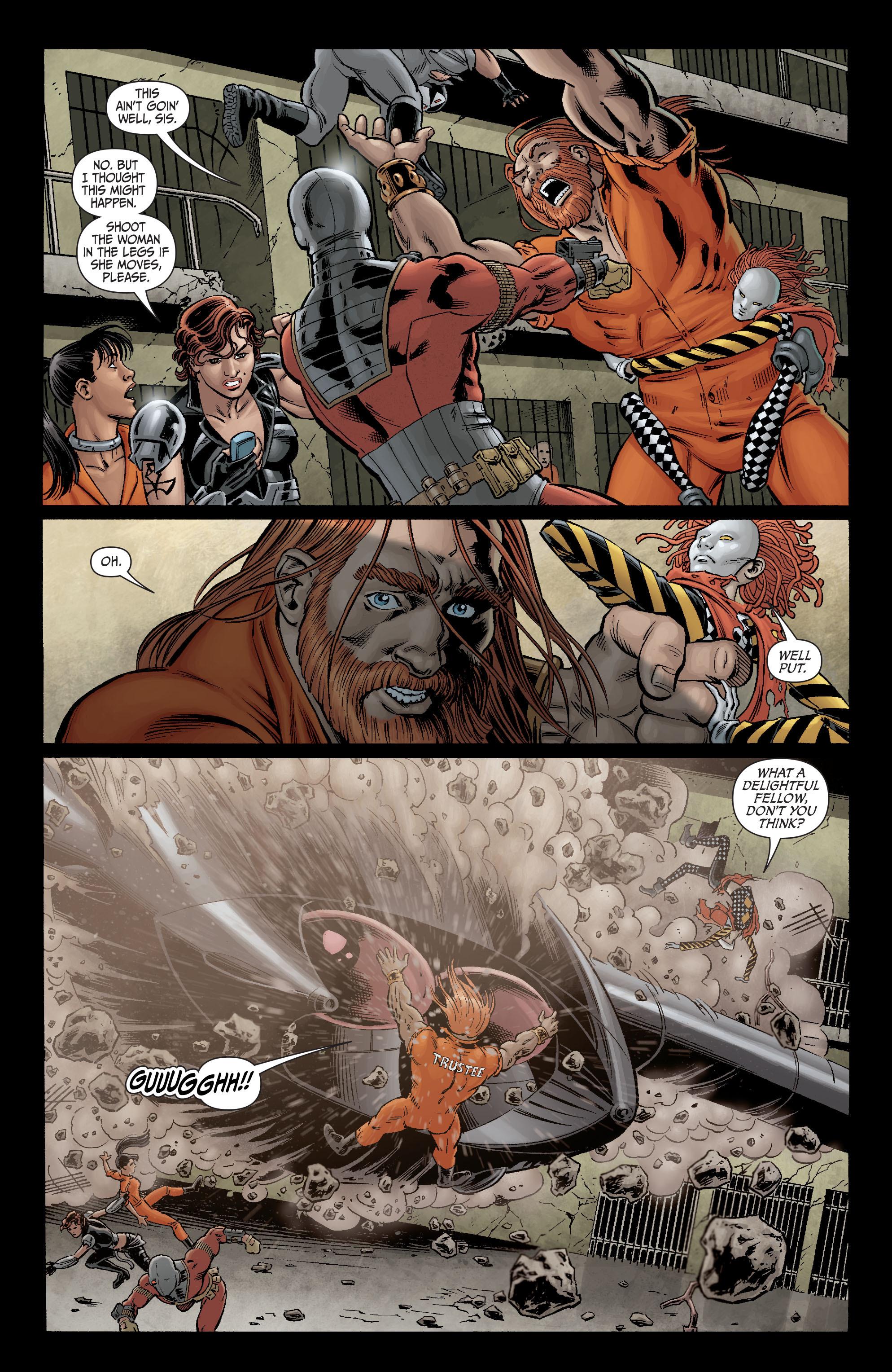 Read online Secret Six (2008) comic -  Issue #2 - 19