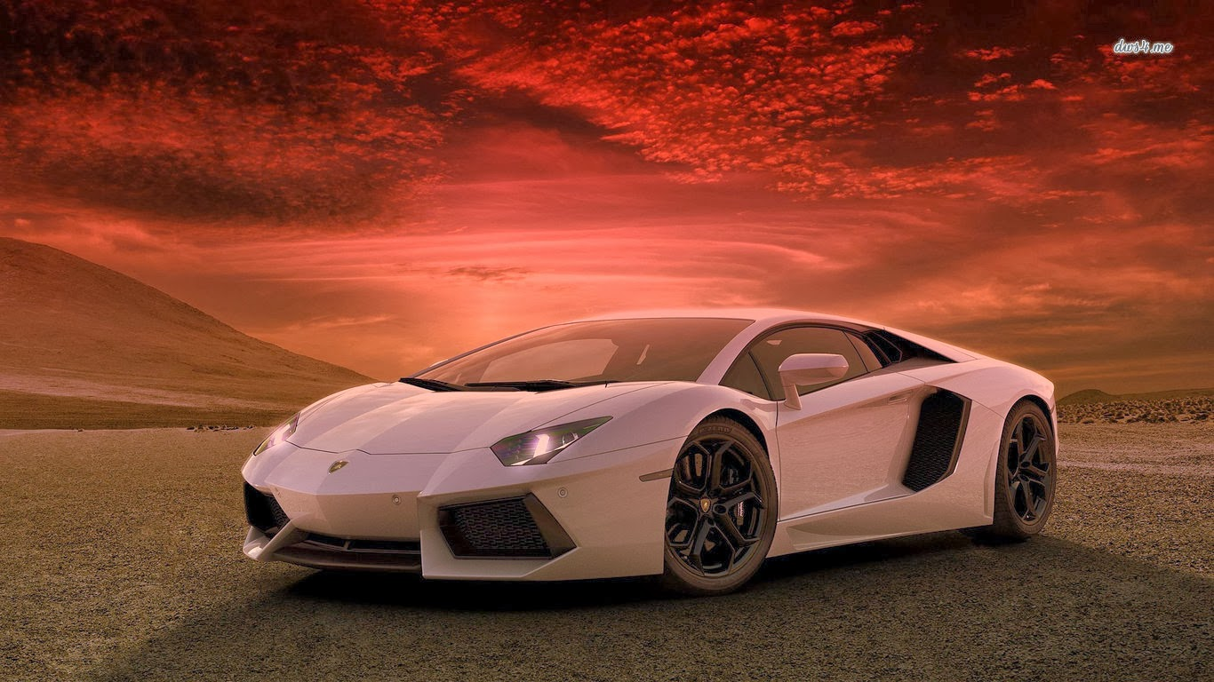 SUPERCAR WALLPAPER: LAMBORGHINI AVENTADOR SUPERCAR WALLPAPER