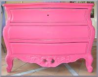 peinture meuble commode sanguine