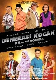 Sinopsis Film GENERASI KOCAK: 90AN VS KOMIKA (2017)