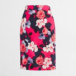 Floral skirt, jcrew