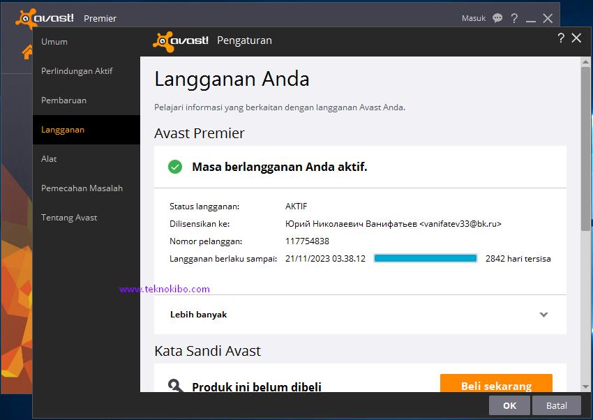 Avast Premier 2016 11.1.2253 with License Key 2021 - ramadhan