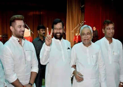 Now Nitish And Paswan Together