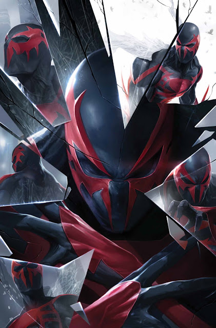 Spider-Man 2099 best covers copertine