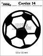 http://www.all4you-wilma.blogspot.com https://www.crealies.nl/nl/detail/2142262/cardzz-stansen-dies-no-14-voetbal-soccer-ball.htm