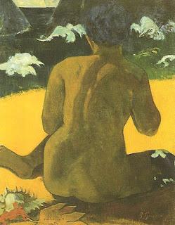 """""""Mulher do Mar"""", Paul Gauguin"""