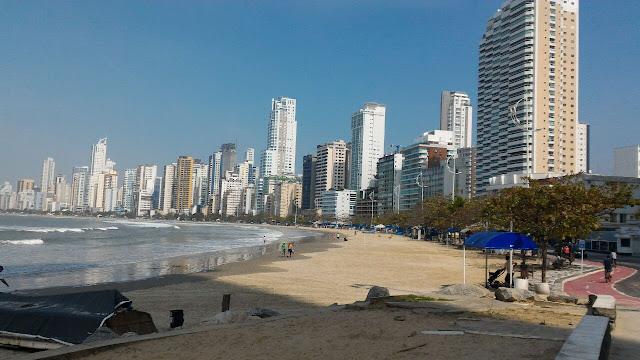 Praia do Centro -  Balneário Camboriú