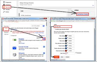 Cara Memunculkan Widget Follow dan Pada Halaman Blog