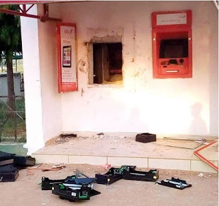 ROBBERS DRESSED IN UNIFORM ATTACKS ANOTHER ATM BANK