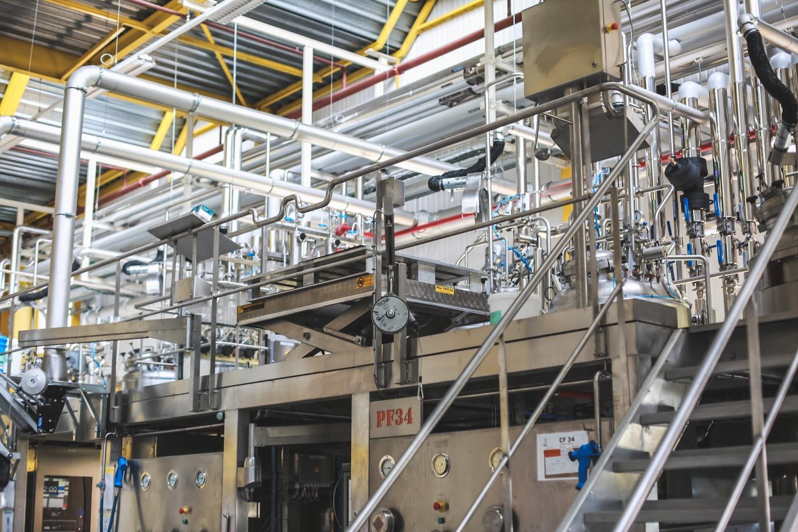 Visite de l'usine Vichy