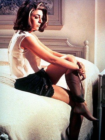 Anne Bancroft in The Graduate