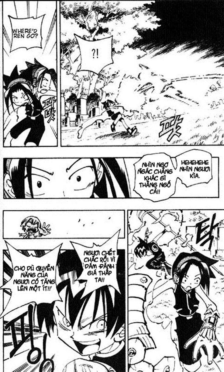 Shaman King [Vua pháp thuật] chap 57 trang 10