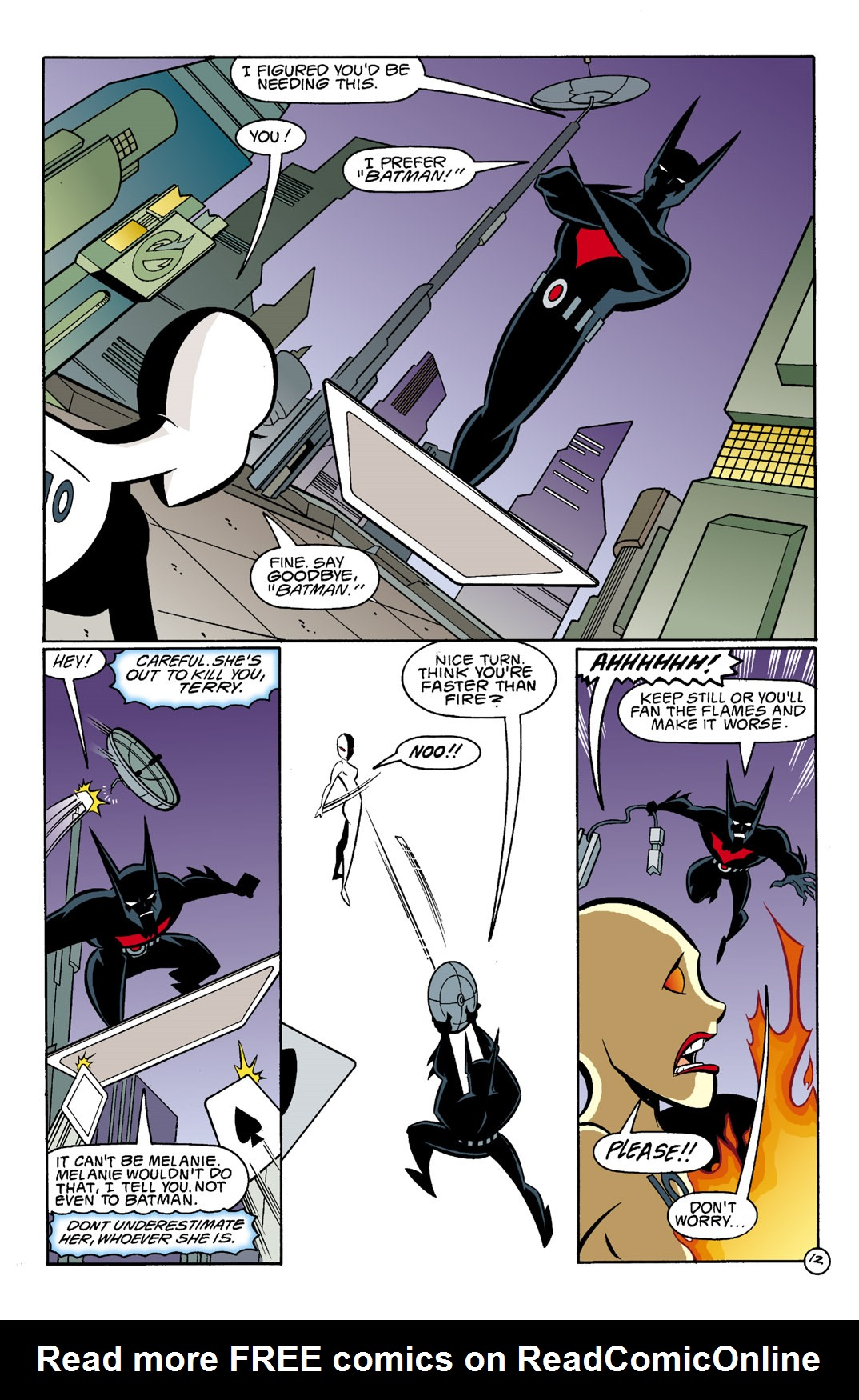 Batman Beyond [II] Issue #4 #4 - English 13