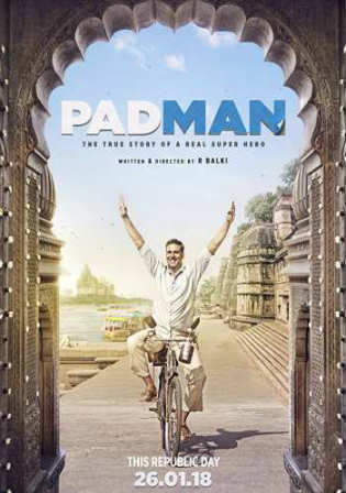 Padman 2018 Pre DVDRip 700Mb Full Hindi Movie Movie Download x264 Watch Online Free Worldfree4u 9xmovies