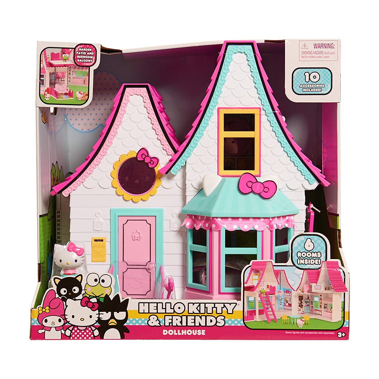 Hello Kitty Doll House 26 57 At Amazon Regularly 69 99 Daily