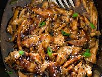 Slow Cooker Honey Gárlic Chicken