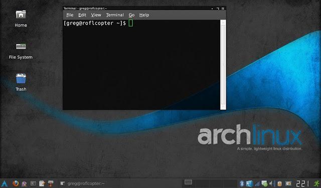 توزيعة-آرتش-لينكس-Arch-Linux