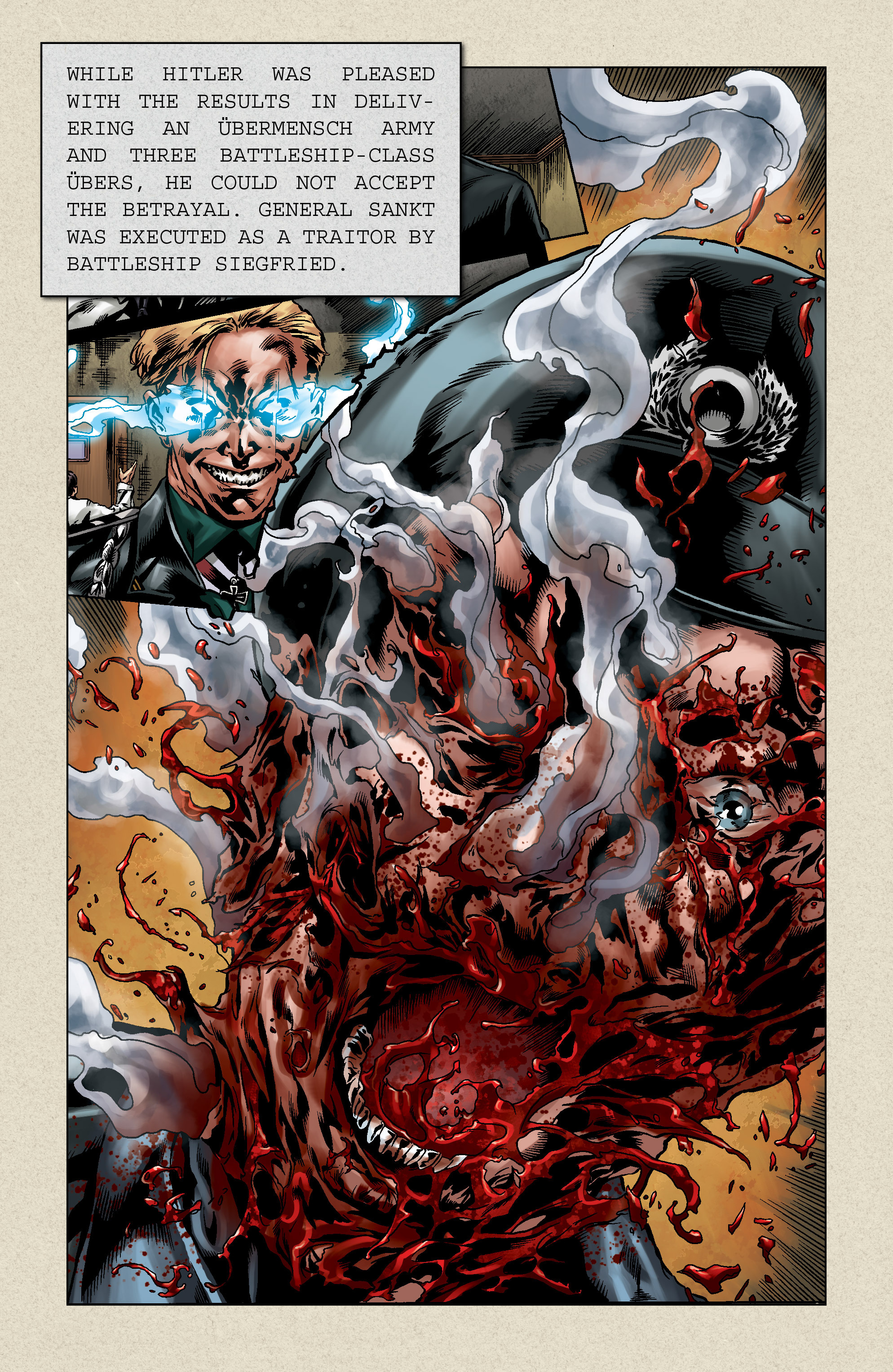 Read online Uber comic -  Issue # _FCBD - The First Cycle - 13